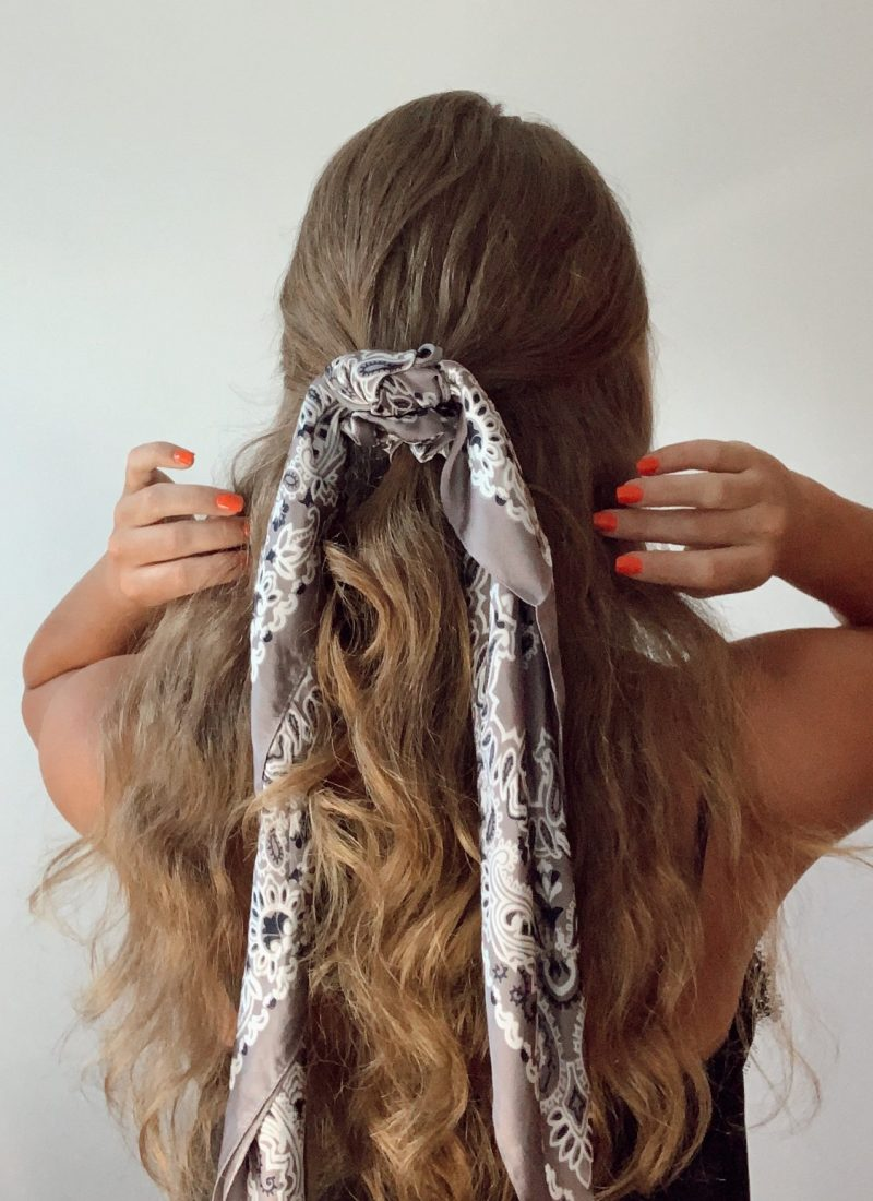 How to Style   7 Ways to Style Your Bandana/Hair Scarf