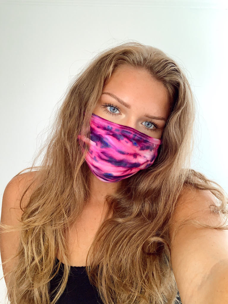 DIY Tie-Dye Face Mask